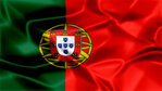 Portugal Silky Flag Graphic Background