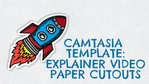 Camtasia Template Collection: Explainer Video Paper Cutouts