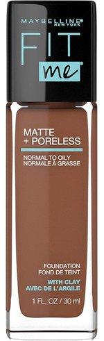 Make up for older women - Maybelline Fit Me Matte + Poreless Liquid Foundation Makeup | 40plusstyle.com