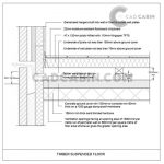 cad drawings pack UK building regulations timber suspended floorr