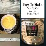Sling, sling for pressure cooker, foil for pressure cooker, instant pot pressure cooker, sling, sling for instant pot, baking, cheesecake, cake, iced cake, food blogger, dana