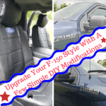 Upgrade Your F-150 Style With A Few Simple DIY Modifications , Ford Oval Logo Embroidered Sideless Seat Cover w/ Head Rest, door handle covers, Trucks, F-150, Ford, DIY, Modifications, upgrades, accessories, grilles, beds, handles, tires, wheels, windows, winches, uprade, diy to trucks, year, models, brands, supercab, interior, exterior, engines, truck ownership, Ford, intake upgrades, American Trucks, tuners, floor mats, fenders, running boards, lights, seasonal upgrades, get your truck in gear, how to, reviews, car and truck blogger in pittsburgh, Auto Article, Auto Blog, Auto blogger, auto dealership, auto info, auto travel, autos, beach, blogging car, blogging cars, blogging vehicles, brighten up, buy, buy a car, buy an auto, car, car article, car blog, car blogger in pittsburgh, car dealership, car products, car travel, cargo, CARS, cars and shopping, cash, cash down, clean up, contracts, couple adventure time, dashboard, diy, drive, drive a car, drive a vehicle, drive an auto, driving, family adventure time, family car, food, food for travel, food in car, hood, info on cars, learn a car, lease, loan, locks, luggage, more travel fun,pack up, packing, phone, purchase, sand, seating, sky, stars tailgating, steering wheel, tips for cars, toss these in, travel advice, travel and adventures, travel by car, travel by vehicle, travel essentials, travel packing, travel tips, traveling together, tricks for cars, trunk, vehicle blogger, vehicle info, vehicles for purchase, WATER, wheels, windshield wipers, truck ownership, FORD, Made in USA,, floor liners, front, valve stem, floor liners 2nd row seating, tri-fold tonneau cover with toolbox, year and make, weatherbeaters, chair covers, sideless seat covers, door sill plates,