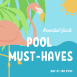 The Essential Guide For Must-Haves For A Day At the Pool, pool, hair, towels, music, earbuds, things to take, things you need, poolside, summer, chlorine, music, reading, how to read, what to read, when to read, waterproof, essentials,