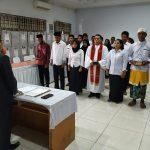 Foto Pelantikan Anggota PPS dan PPK PAW Kabupaten Kolaka