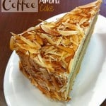 Coffee Almond Cake