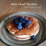 Whole Wheat Pancakes with Berries