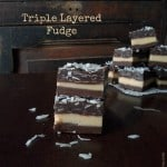 Triple Layered Fudge
