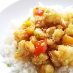 Vegetarian Cauliflower Orange Chicken