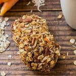 Two Carrot Oatmeal Cookies