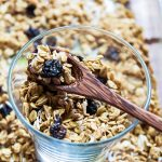 Homemade Granola in Glass