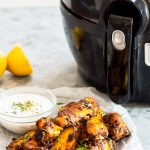 Tandoori Chicken Wings Actifry