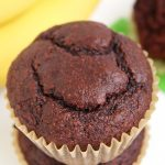 Coconut Flour Banana Chocolate Muffins