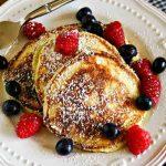 Lemon Poppyseed Ricotta Pancakes | Life, Love, and Good Food