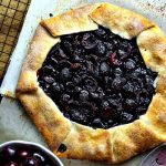 Rustic Cherry Tart | Life, Love, and Good Food