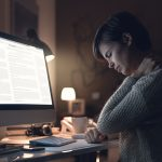 chronic neck pain can be caused by bad posture