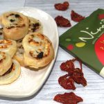 Tomato & Cucumber Vegetable Crisps with Feta Palmiers