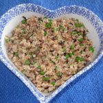 Tarragon Rice Pilaf has loads of protein and is so tasty.