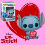 Funko Pop stitch San valentin