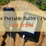 Best Portable battery packs for travel