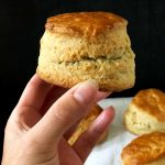 A lovely Tall Scone