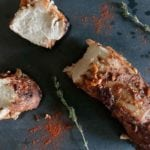 Pork Tenderloin Marinade - This marinade is perfect to give your pork tenderloin extra flavour. Its quick, easy and tastes incredible! Fennel, Cumin, Thyme, Paprika, Ketchup, Honey and Balsamic | AmateurChef.co.uk