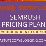 SEMrush pro vs guru vs business - SEMrush pricing plans