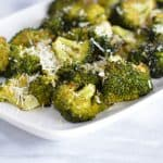 Roasted Broccoli with Parmigiano Reggiano Cheese
