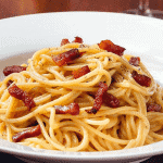 de originele pasta Spaghetti alla Carbonara