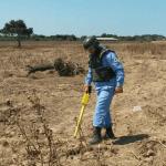 demining