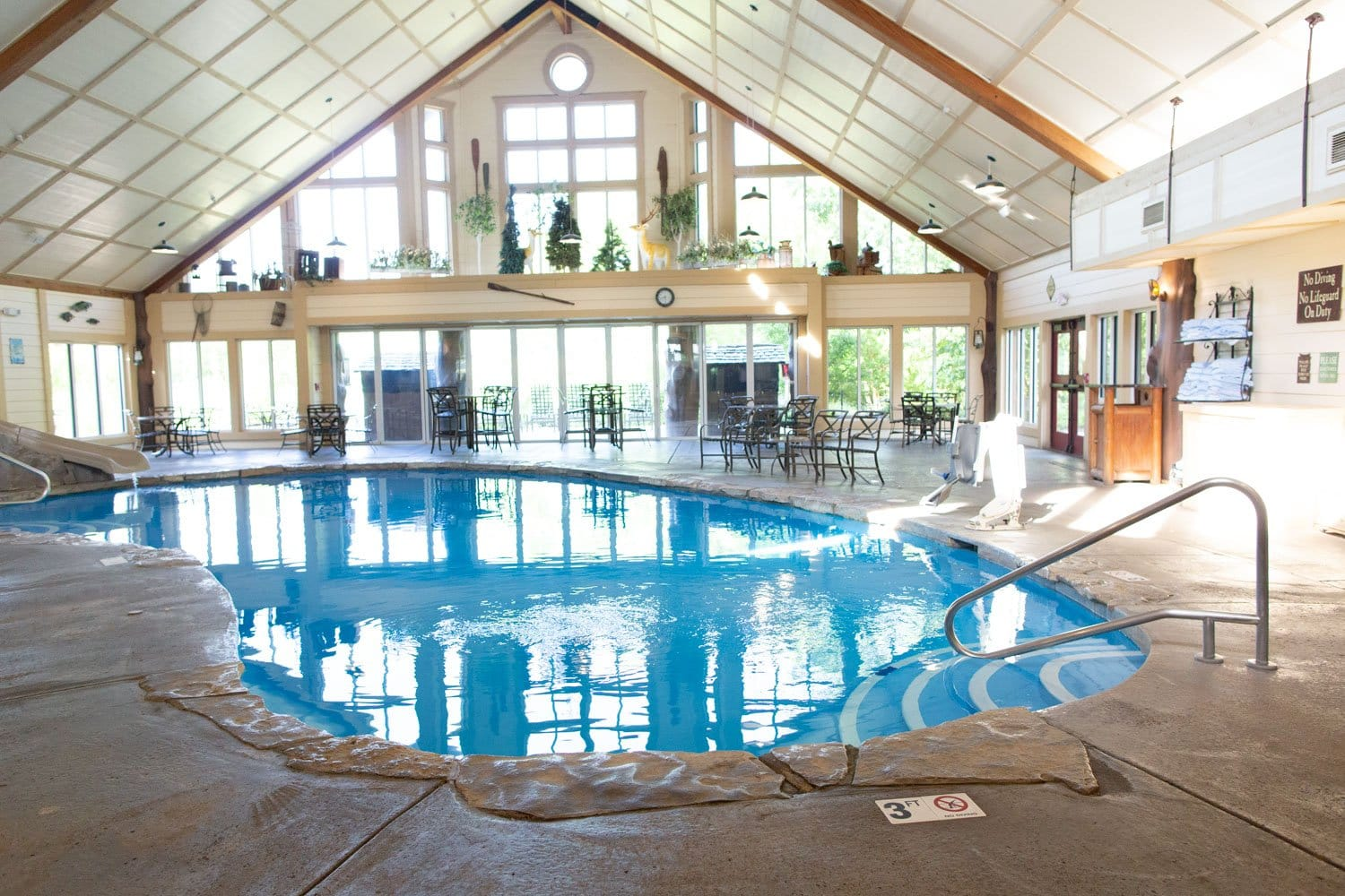 Big Cedar Lodge Wilderness Club Studio Brushey Creek Indoor pool
