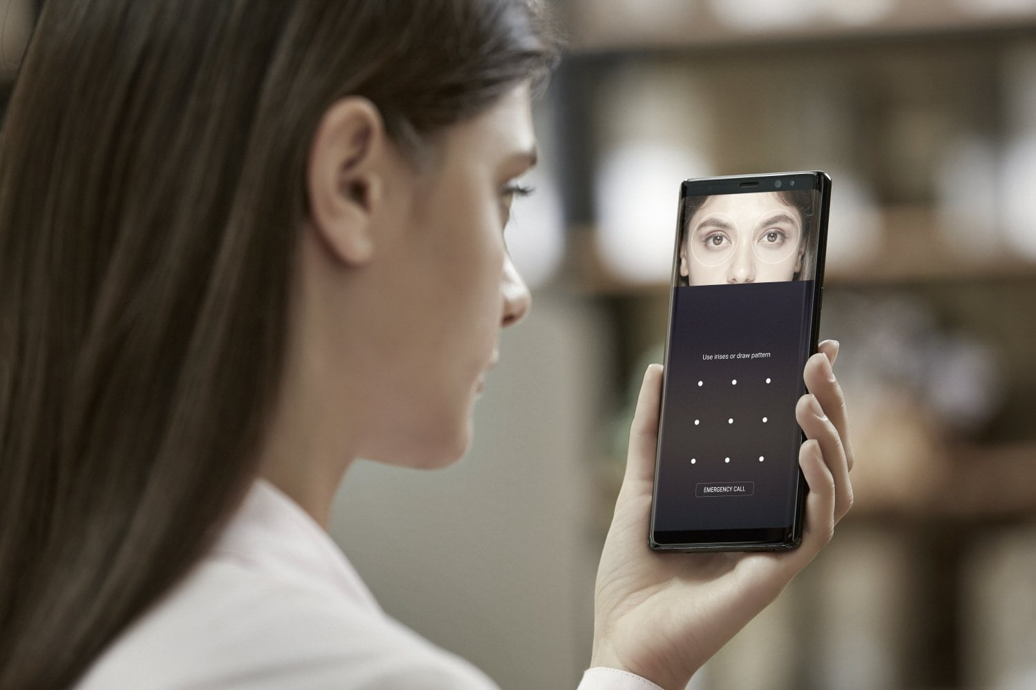 How To Set Up Iris Scanning On Galaxy Note 8