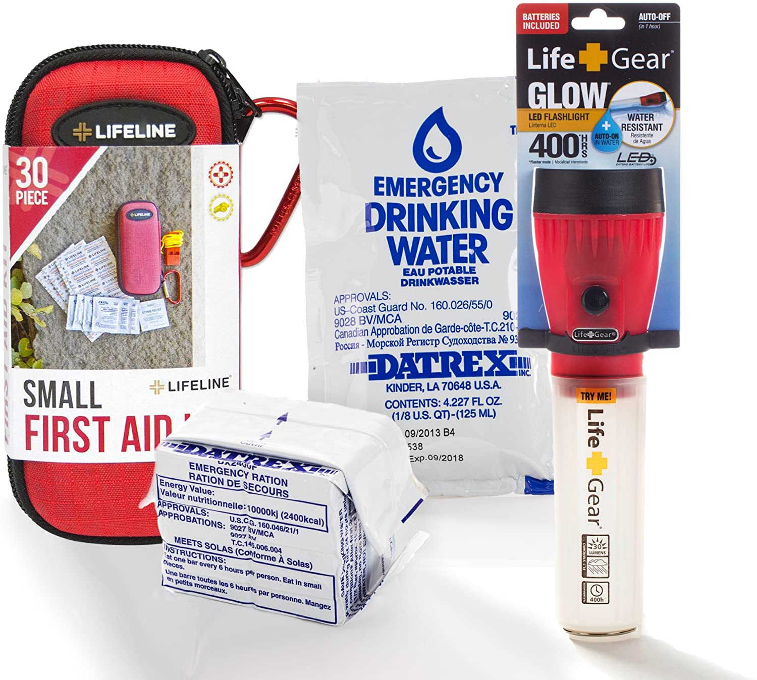 First My Family A Disaster Preparedness Company 1PKIT All-in-One Single Person Premium Disaster Preparedness Survival Kit 2