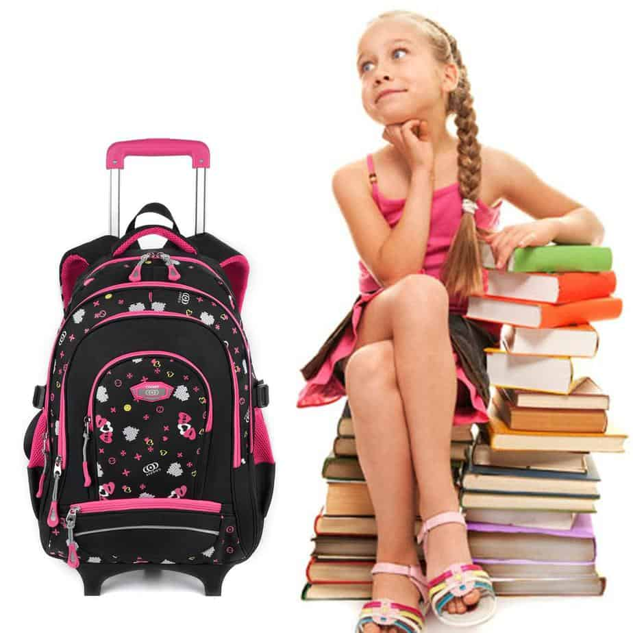 best rolling backpacks for middle schools