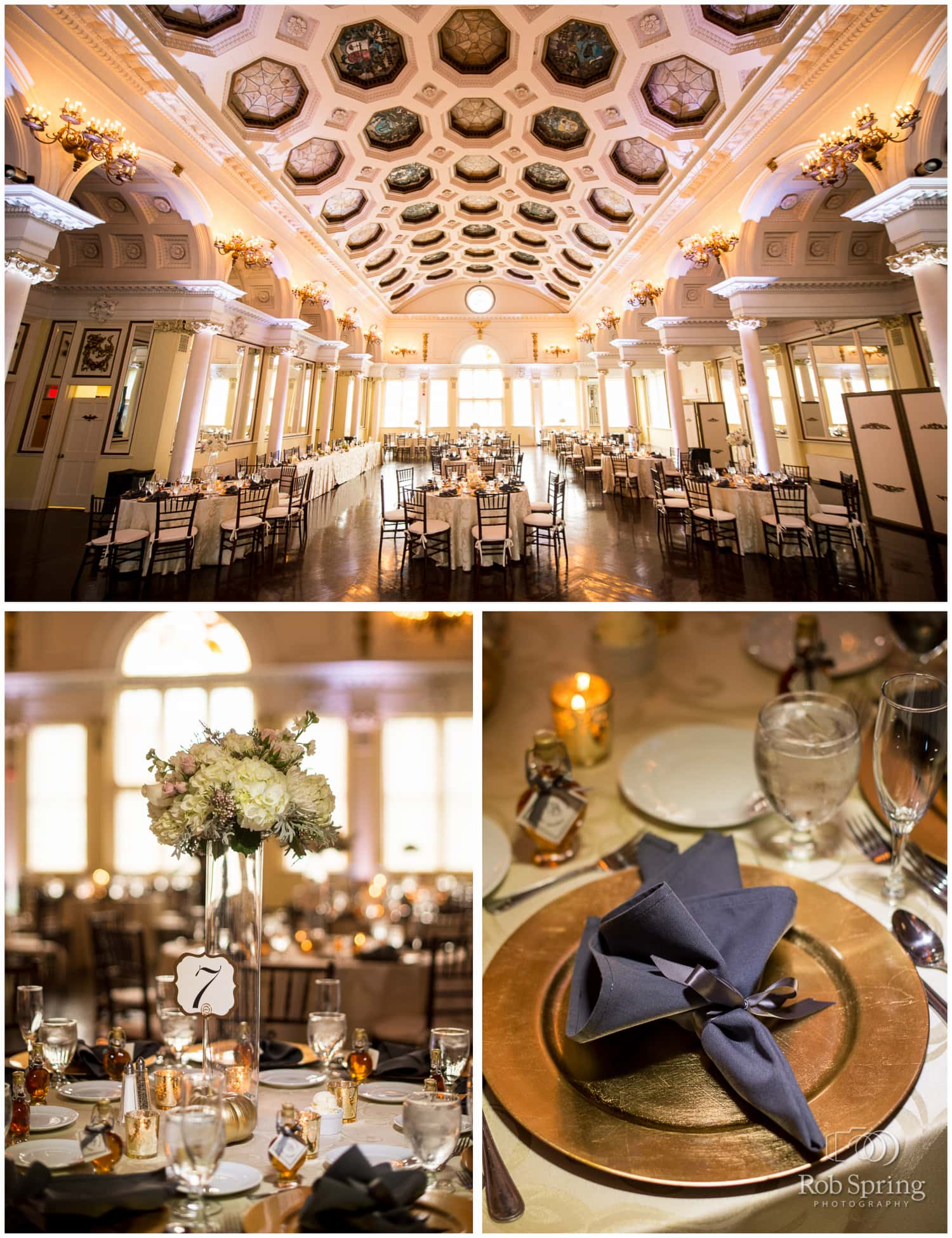 Canfield Casino Wedding reception, Saratoga Springs, NY Wedding photos