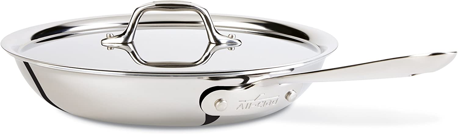 All-Clad Dishwasher Stainless Cookware Silver