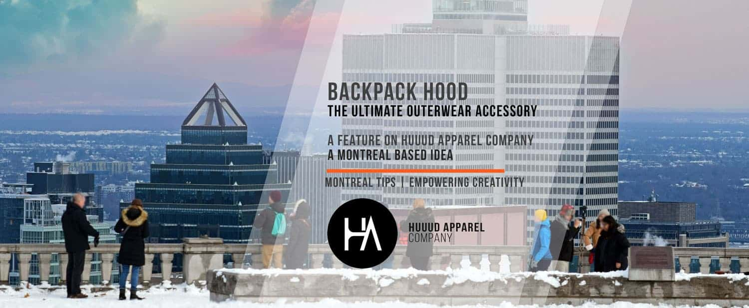 The Backpack Hood - a New Hoodie Style