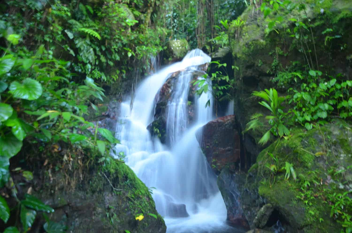 waterfall The lost city fendaux
