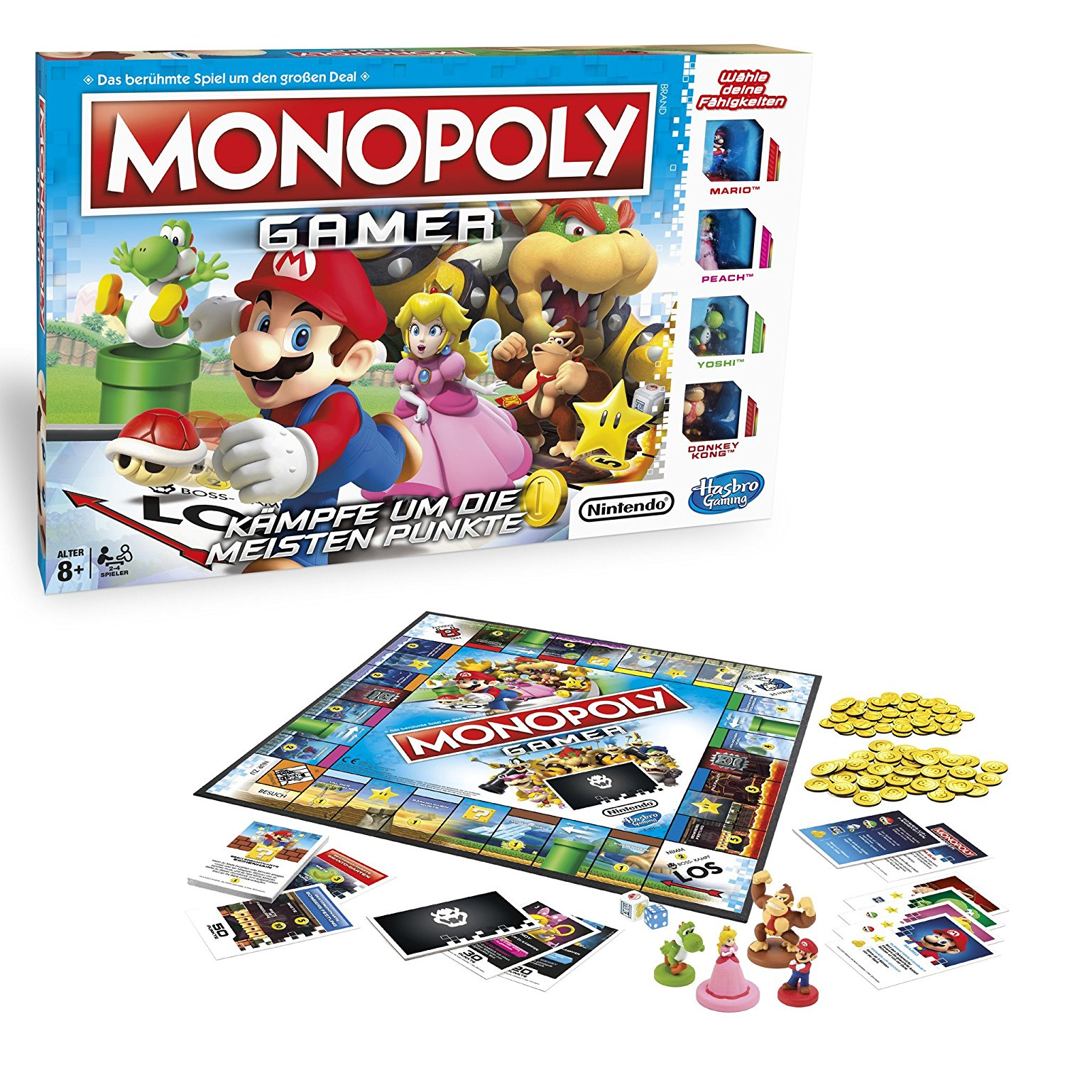 Monopoly Gamer Mario Edition