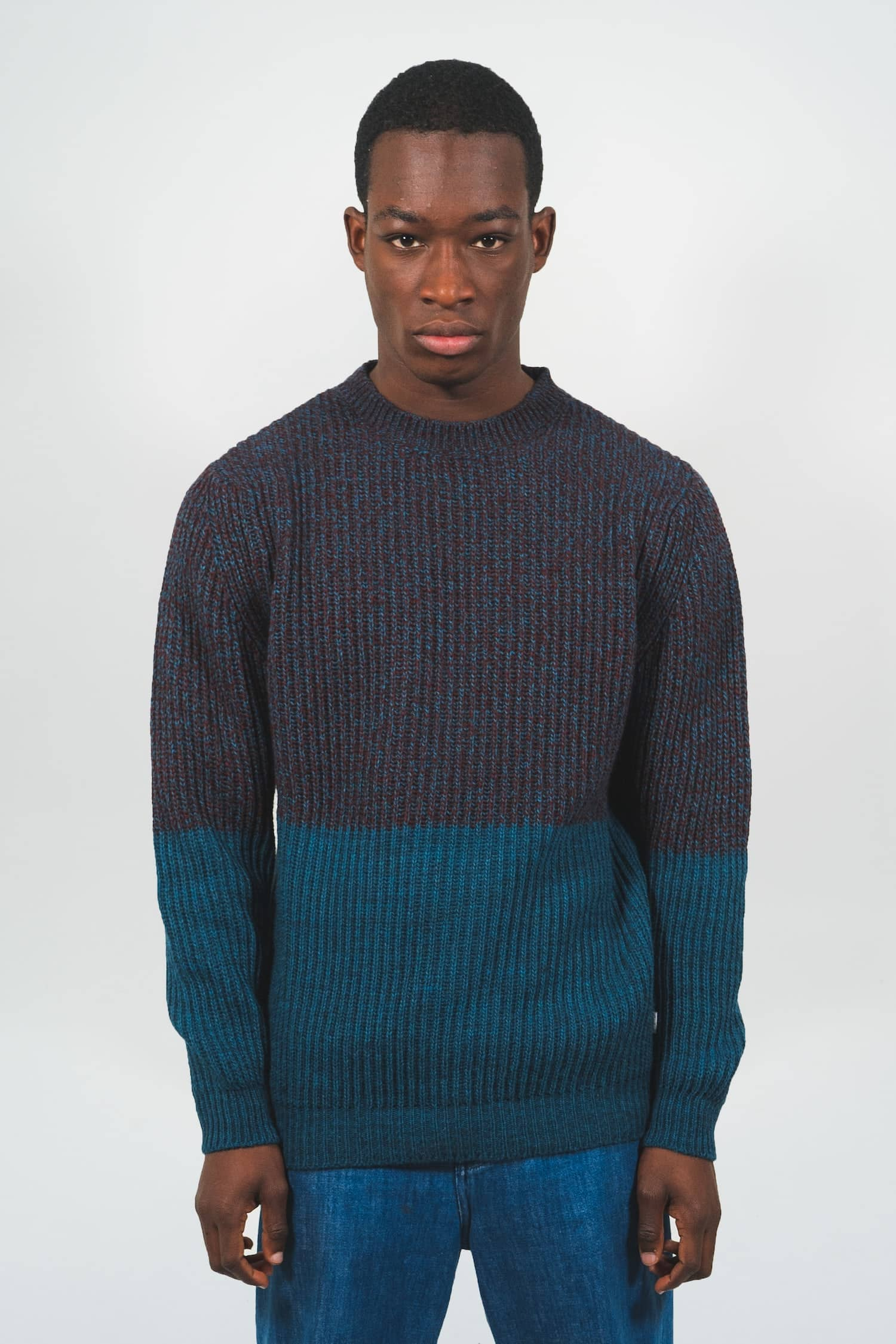 Itten Knitwear - Purple Castart men's clothing AW19