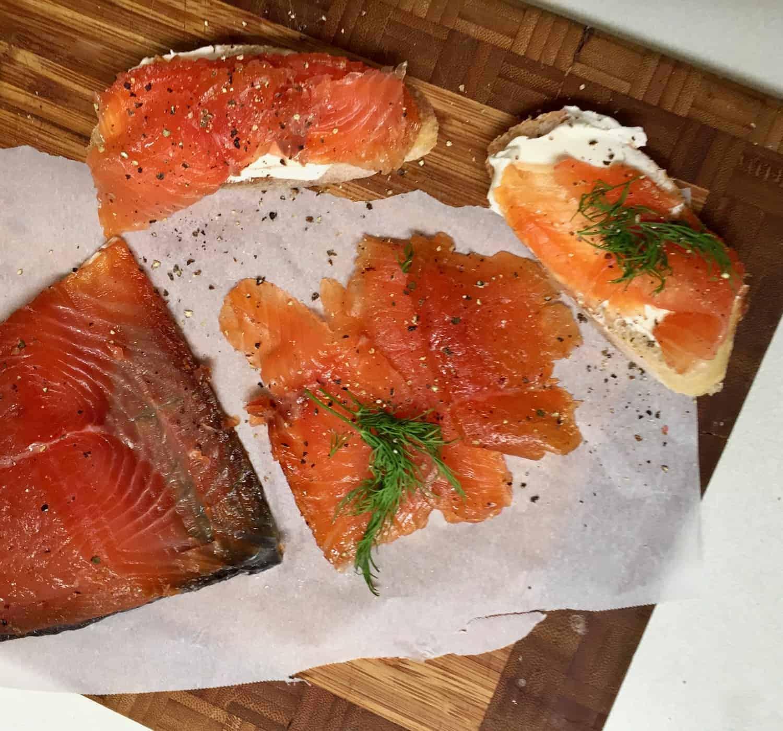 "Juniper-Cured Gravlax from Trine Hahnemann's ""Scandinavian Comfort Food"""