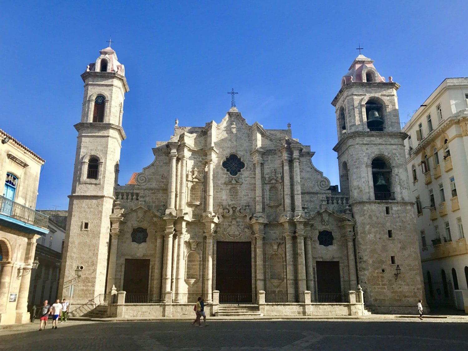 Havana Cathedral is stunning. No way it couldn't feature in our best things to see in Havana guide