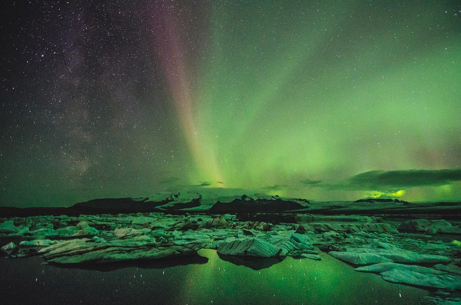 Viewing the Northern Lights in Iceland