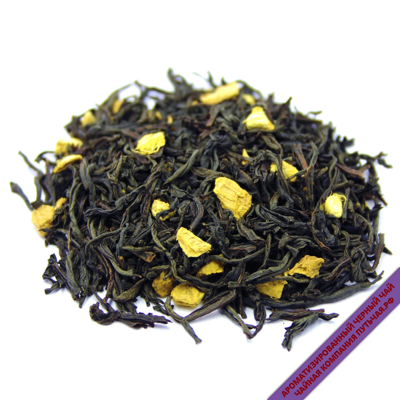 Черный чай с имбирем