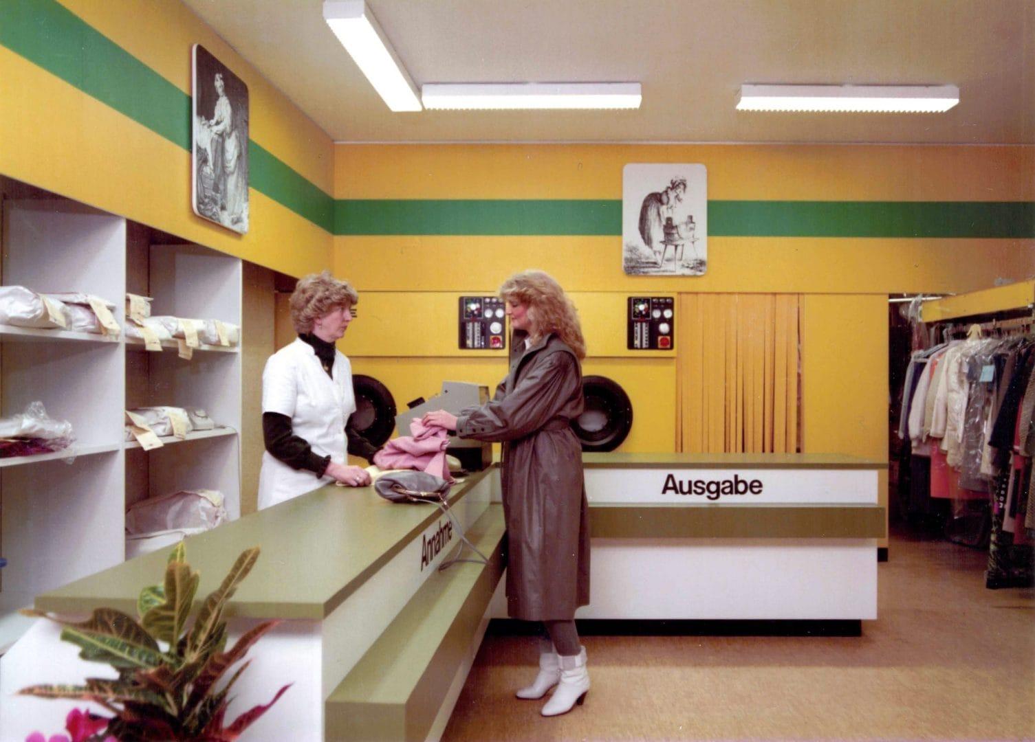 Fotografie des Ladens der Rapid-Reinigung