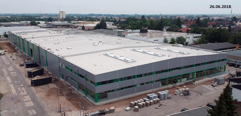 Smart Industrie in Kandel - Holzfachhandel mit smarter KNX-Technik