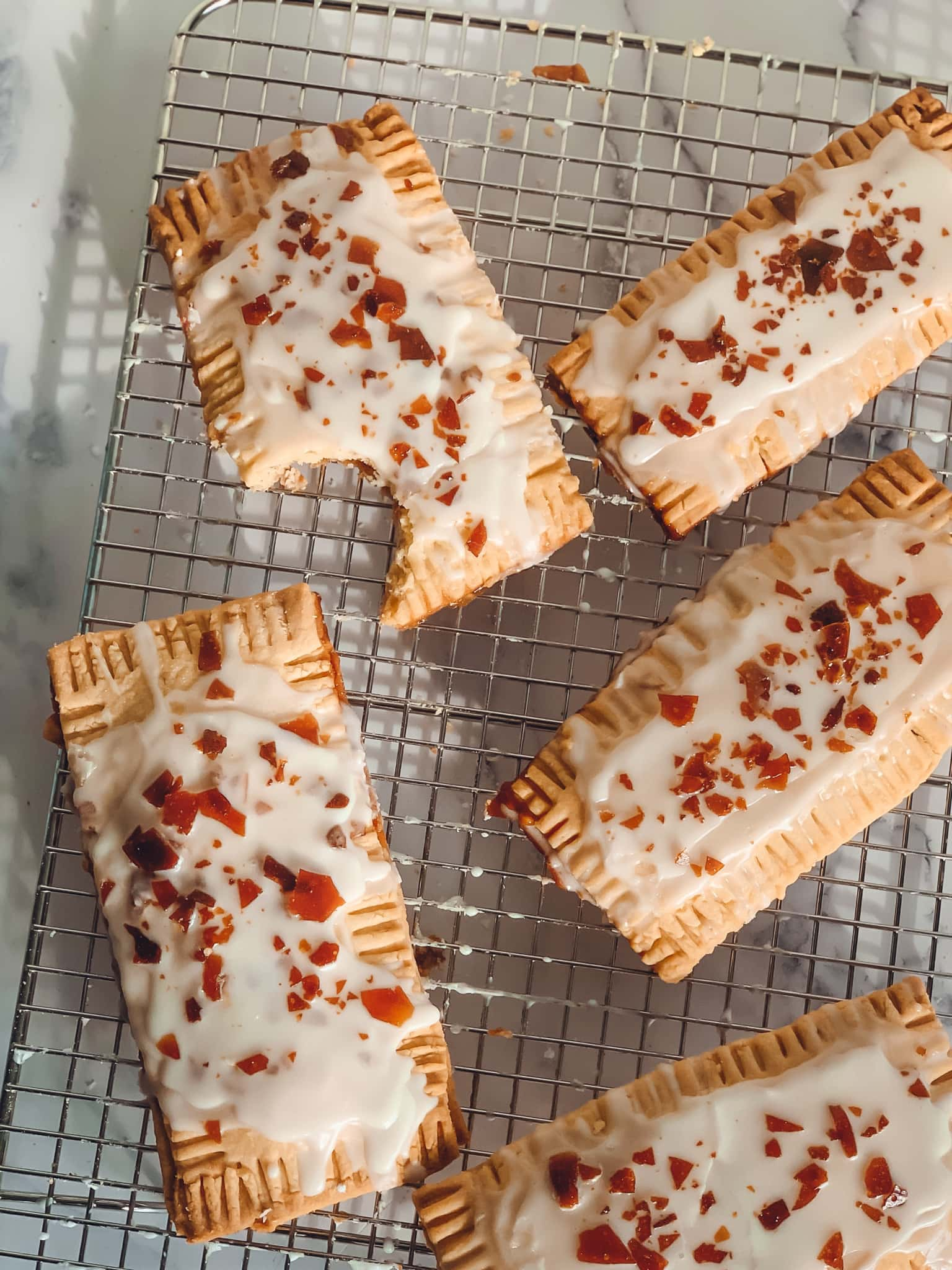 Chocolate Maple Pop Tarts with Cocoa Bean Infused Maple Syrup by Runamok Maple