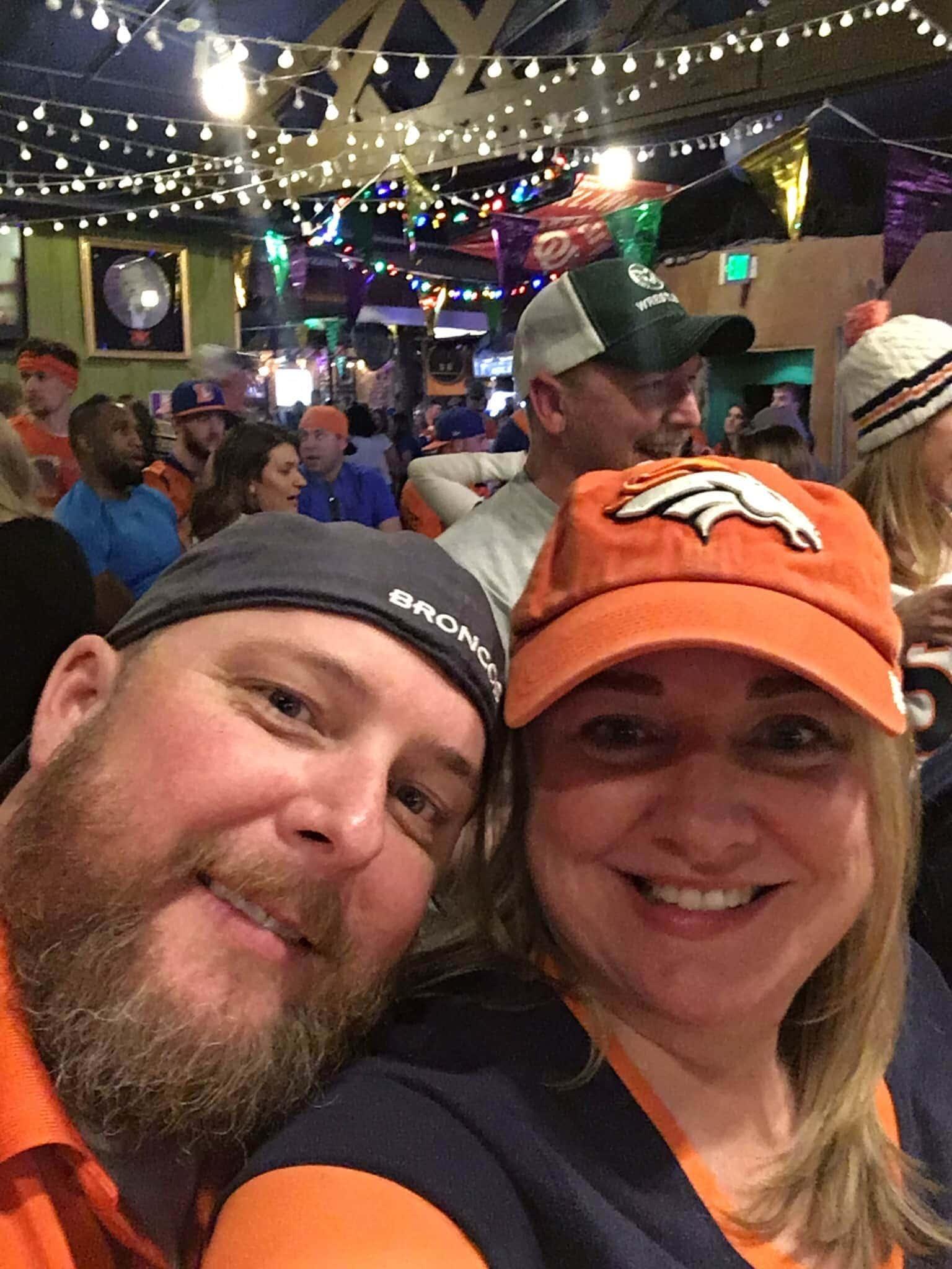 Super Bowl Sunday. Go Broncos! | BottleMakesThree.com
