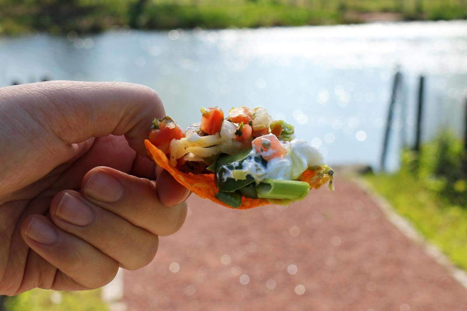 Say yes to summer with this easy recipe for Loaded Doritos Nachos. Whether you are lakeside or on a boat, this is easy to make and delicious!