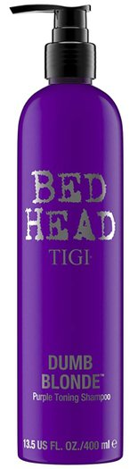 TIGI Bed Head Dumb Blonde Toning Shampoo | 40plusstyle.com