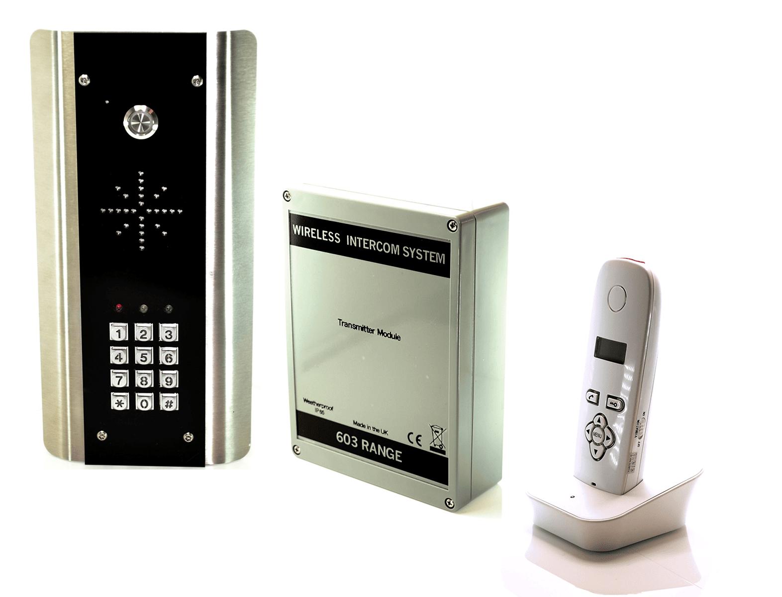 Draadloos intercom systeem